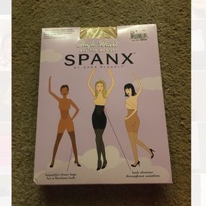 Buff high waisted tights spanx in package